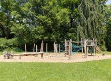 Спортивная площадка на дети 1 Стоковое Фото