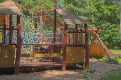 спортивная площадка парка детей самомоднейшая Стоковое Фото