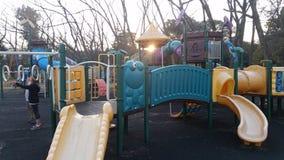 Спортивная площадка парка перепада Стоковые Изображения