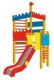 Спортивная площадка для детей Стоковое Фото