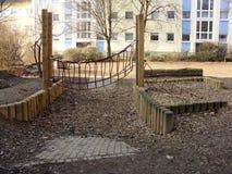 Спортивная площадка для детей Стоковые Изображения RF