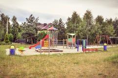 Спортивная площадка для детей Стоковая Фотография RF