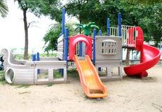 Спортивные площадки в парке Стоковые Изображения