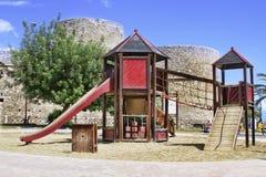 Спортивные площадки в парке Стоковые Изображения RF