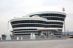 Спортивные сооружения на будущее Стоковые Изображения