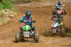 Спортсмены на ATVs Стоковое Изображение