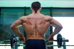 спортсмен гимнастики Стоковые Изображения