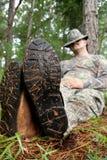 спортсмен охотника Стоковое Изображение