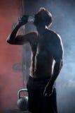 Спортсмен пролома стоковое фото