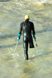 спортсмен с ограниченными возможностями Стоковая Фотография