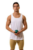 Спортсмен с съемкой Стоковая Фотография RF