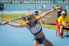 Спортсмен Украины Стоковые Фото