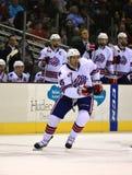Спортсмен хоккея на льде Стоковые Фото