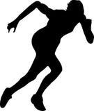 спортсмен иллюстрация штока
