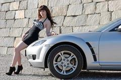 спорты автомобиля большие Стоковая Фотография RF