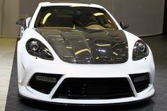 спорты автомобиля выполненные на заказ Стоковое Изображение RF