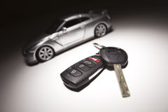 спорты автомобиля ключевые Стоковые Изображения RF