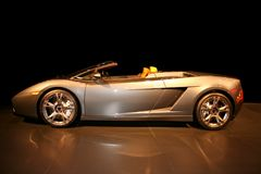 спорты автомобиля дорогие причудливые Стоковое Изображение