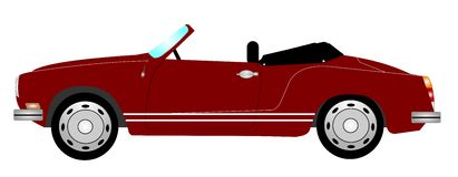 спорты автомобиля ретро Стоковые Фотографии RF