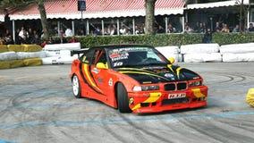 спорты выставки смещения автомобиля Стоковая Фотография RF