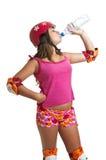спорты девушки Стоковые Изображения RF
