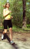 спорты девушки стоковое фото