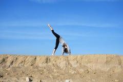 спорты девушки Стоковая Фотография RF