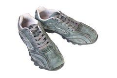 спорты изолированные обувью стоковые изображения rf