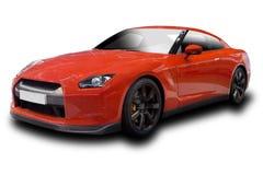 спорты красного цвета автомобиля Стоковое Изображение RF