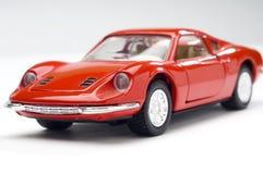 спорты красного цвета автомобиля Стоковая Фотография RF