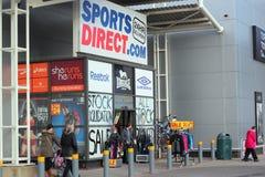 Спорты направляют магазин розничной торговли. Стоковая Фотография