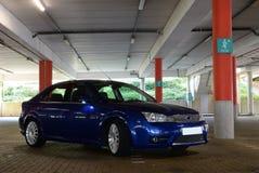 спорты припаркованные автомобилем Стоковые Изображения RF