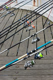 спорты рыболовства Стоковые Изображения