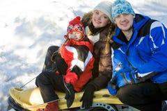 спорты семьи Стоковая Фотография