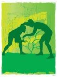 спорты скульптуры иллюстрация штока