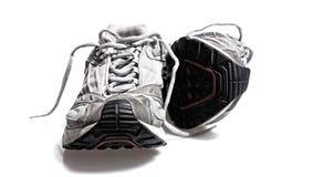 спорты тапки гимнастики идущие Стоковые Изображения RF