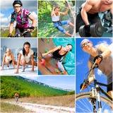 спорты уклада жизни принципиальной схемы Стоковое Изображение