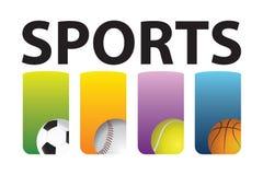 спорты иллюстрация вектора