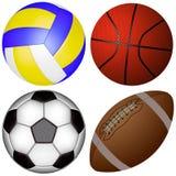 спорты balls2 Стоковое Изображение