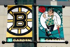 спорты boston знамен Стоковые Фотографии RF