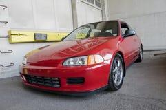 спорт автомобиля компактный красный Стоковая Фотография RF