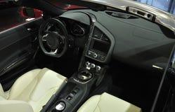 спорт автомобиля нутряной супер Стоковое Изображение RF