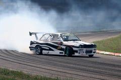 спорт автомобиля перемещаясь Стоковое фото RF