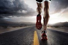 Спорт бегунок Стоковое Фото