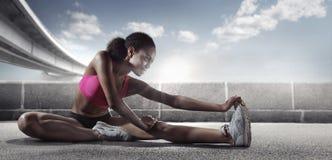 Спорт бегунок Стоковые Изображения