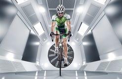 Спорт Велосипедист Стоковые Фотографии RF