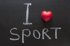спорт влюбленности стоковое фото
