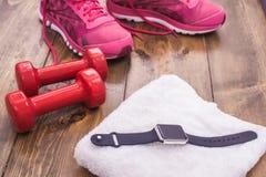 Спорт возражает образ жизни оборудования здоровый активный Стоковые Изображения
