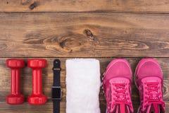 Спорт возражает образ жизни оборудования здоровый активный Стоковое Изображение RF