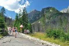 Спорт в высоком Tatras Стоковые Фотографии RF